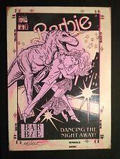 """IMBUE """"Dancing The Night Away"""" sérigraphie sur bois signée 1/1 -dolk/kaws/dface"""