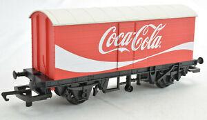 Hornby Coca-Cola Coke OO Gauge LWB Box Van Car Rolling Stock R6934