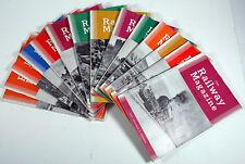"LOT OF 14 VINTAGE ""THE RAILWAY MAGAZINE"" UK IMPORT - 1960 THRU 1962 EXC!"