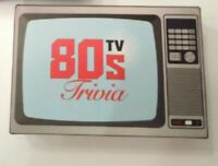80s tv trivia cards - set of 100 cards  -  New & Sealed