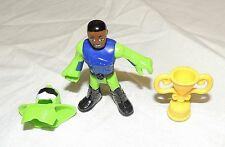 New Imaginext Blind Bag Series 8 Motor Cross Motorcycle X Games African American
