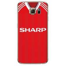 Man Utd Retro Kit Shirt For Samsung Phone Cover Case Manchester United