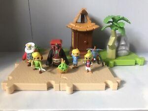 World Of Nintendo Micro Land Zelda Outset Island Playset Bundle Link Ganon