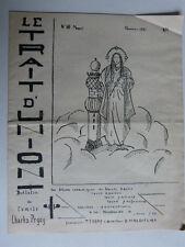 Le trait-d'union n° 10 Bulletin du cercle Charles Peguy 1937