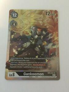 Digimon TCG  BT6-067  GANKOOMON   SUPER  RARE  -