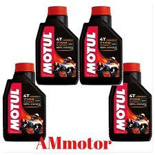 Motul 7100 10w 40 Olio Motore Lubrificante 100 % Sintetico 4 Litri MOTO