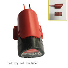 for milwaukee M12 12V battery adapter connector to dock power 12Awg robotics