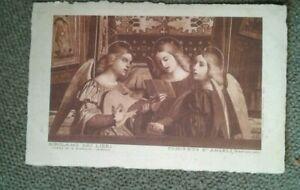 Verona Italy Chiesa San Giorgio Concerto D'Angeli Vintage 1920's postcard