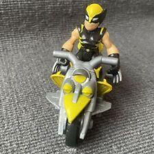 """PlaySkool Heroes Super Hero Adventures WOLVERINE 2.5"""" Figure With Racer Kids Toy"""