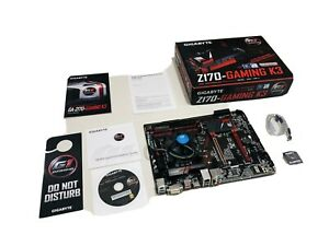 Gigabyte Z170 Gaming K3 Motherboard / Intel CPU / Kingston Ram Bundle