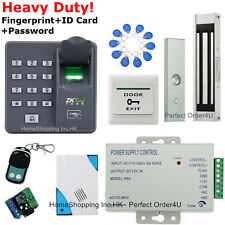 Fingerprint+ RFID Card+ Password Door Access Control System+Magnetic Lock+Remote