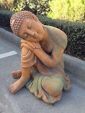 Concrete Large Thai Buddha Sleeping Garden Ornament Statue
