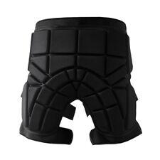 Skiing Hip Butt Pad Roller Skate Snowboard Padded Shorts Protector Black L