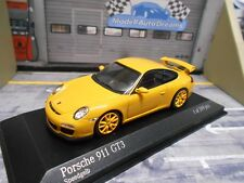 PORSCHE 911 991 GT3 Carrera 2009 Coupe gelb yellow Minichamps 1:43