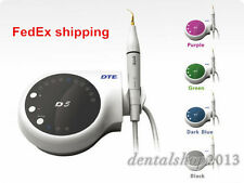 110V Dental Woodpecker Ultrasonic Piezo Scaler DTE-D5 with 6pc Scaler tips