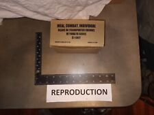 Reproduction Vietnam Era US Army C ration MCI Modern food! Beans and Franks Unit