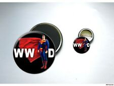 What Would SUPERMAN Do Button & Magnet Set
