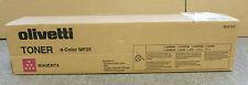 Olivetti 8938-523 D-colore MF25 NUOVO SIGILLATO ORIGINALE CARTUCCIA TONER MAGENTA