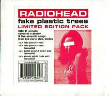 Radiohead-Fake Plastic Trees CD 2 LIMITED EDTION CD SINGLE with POSTER