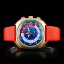 Memosail Swiss 17-Jewel Chronograph 40mm Wristwatc Lot 935