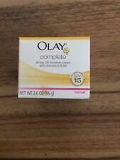 Olay Complete UV365 Daily Moisture Cream Moisturizer SPF 15 Oil Free Normal Skin