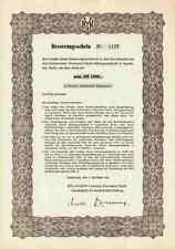 BYK Guldenwerke 1956 Chemie Altana Piesteritz Konstanz Wesel 1000 DM Bad Homburg