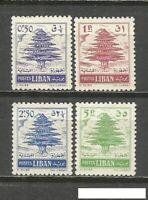 Lebanon complete set MH 1960, YVERT 164A/165A