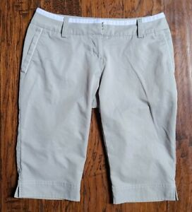 Women's Adidas Climacool Stretch Gray  long Shorts Size 4 (InventoryW15)
