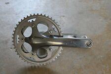 Shimano FC-CX50 Silver Crankset Cyclocross Gravel 175mm 2x10 46-36T, Used