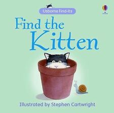 New - Find the Kitten (Find-Its Board Books) by Brooks, Felicity