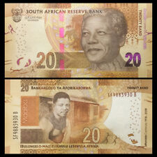 South Africa 20 Rand, 2018, P-NEW, 100th COMM. , UNC