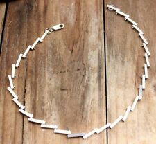 Necklace No Stone Sterling Silver Vintage & Antique Jewellery