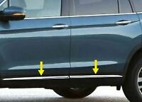 For 2017-2021 Honda Pilot Accent Trim 4PC Stainless Steel Bodyside Molding