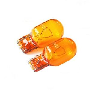 Ampoules T20 WY21W ORANGE Eclairage Clignotants Repetiteurs Auto Camion 12V