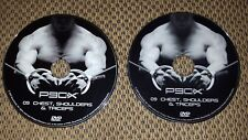 2 - P90X Chest, Shoulders & Triceps DVDs Disc 9 - FREE SHIPPING!! SHIPS ASAP!!