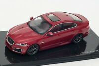 Jaguar XFR in Italian Racing Red, official Jaguar dealer model, IXO 1:43 scale