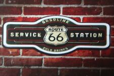 Route 66 service station rt mancave led lighted neon sign shop garage home decor