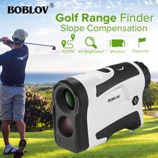 600m Golf Laser Range Finder Distance Meter Measurer Scope Pinseeker Flag Lock