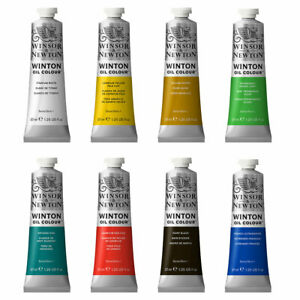 Winsor & Newton Winton Student Oil Paint 37ml - 55 Colours Available