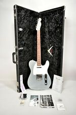 2005 Fender Custom Shop CC '67 Telecaster Firemist Silver Finish Electric Guitar