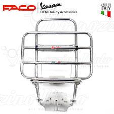 Faco Portapacchi cromato posteriore con Ribaltina-portaruota Vespa 125 Primavera
