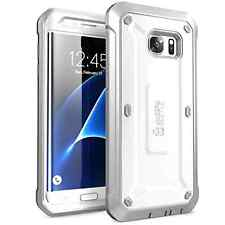 Galaxy S7 Edge Case SUPCASE Full-body Rugged Holster Cover Unicorn Beetle WHITE