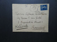 France 1915 Censor Cover to Netherlands - Z11537