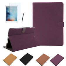 Schutzhülle iPad Pro 9,7 Zoll VELOURS Kunstleder Tasche Cover Case Etui + Folie