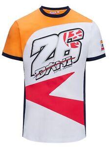 T-Shirt Mens Repsol Honda Team Adults Pedrosa 26 MotoGP Bike Tee NEW!
