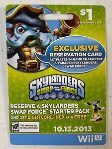 Skylanders UFO Hat Pre-order Card Swap Force