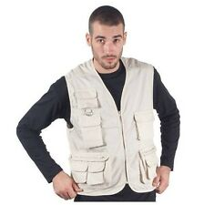 108 Reporter vest with net & Multiple pockets 65% polyester - 35% cotton