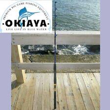 "SALTWATER FISHING RODS 30-50LB FISHING POLE ""BLUELINE"" FOR PENN SHIMANO"