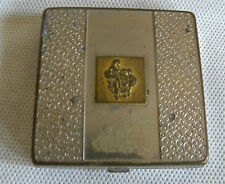 Vintage Silver Metal Compact by Yardley of London