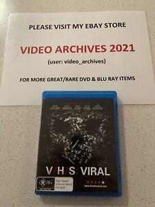 V/H/S: VIRAL - Blu-Ray - Rare - Free Postage